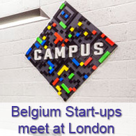 Belgium Start-ups meet at London - Google Campus