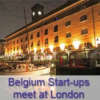 Belgium Start-ups meet at London - Rain Making Loft
