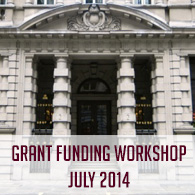 GRANT FUNDING WORKSHOP JULY 2014